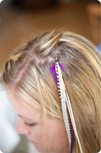 do it yourself feather extensions